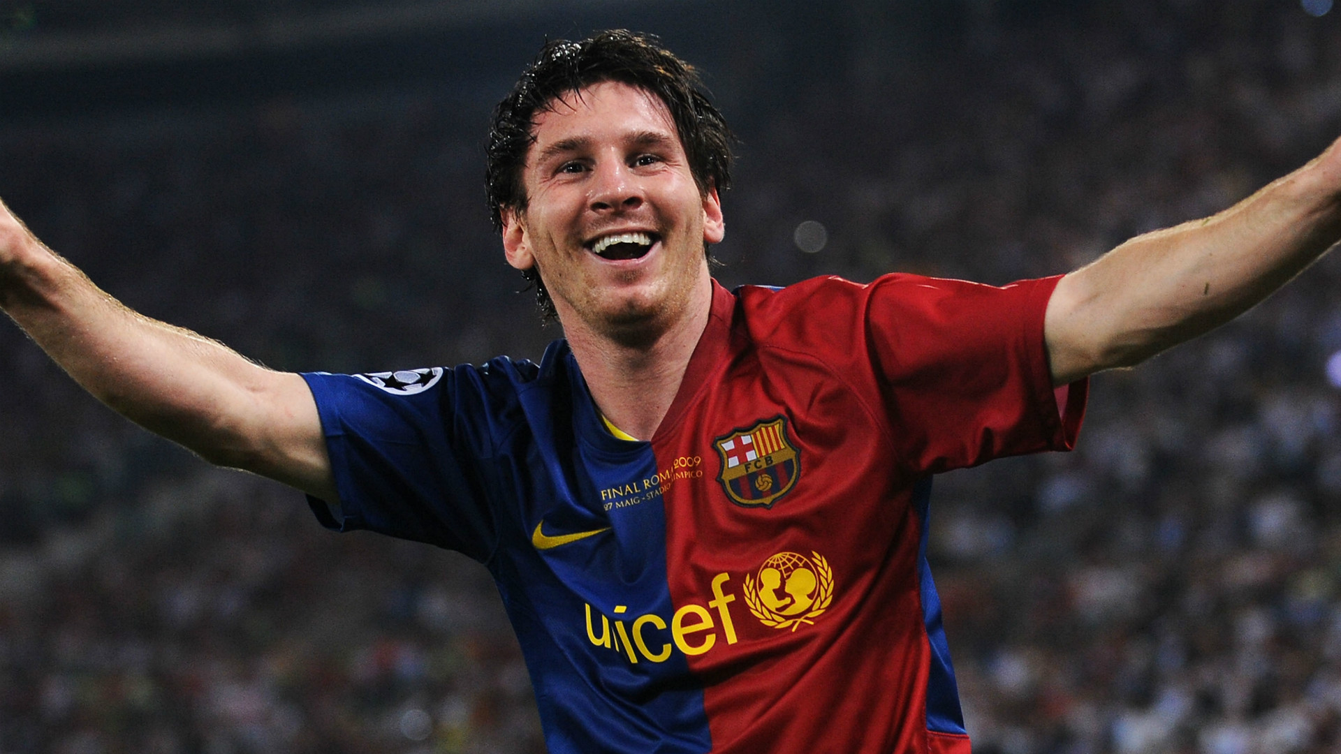 The perfect match: The night Messi's Barcelona conquered Manchester United &Rome