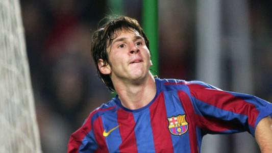 Lionel Messi in November 2005