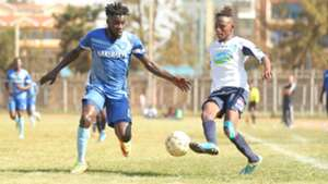 Jacobs Faina of Nakumatt v James Kinyanjui of Thika United.