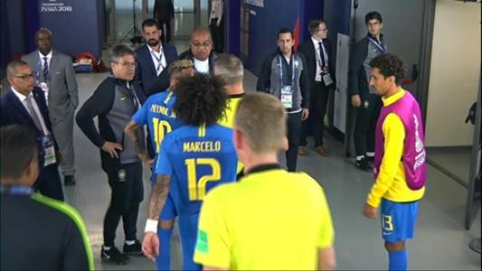 Neymar arbitro Brasil Costa Rica