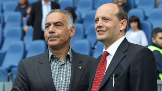 James Pallotta Mauro Baldissoni Roma