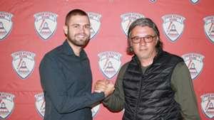 Marko Vasiljevic & Nikola Kavazovic, Free State Stars, February 2019
