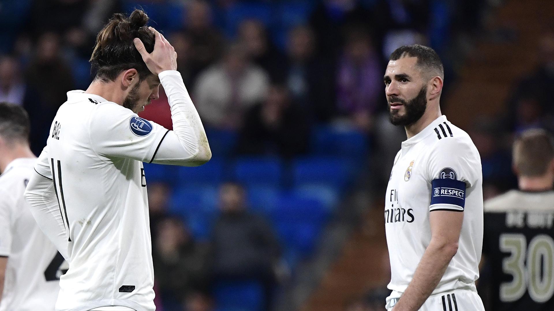 Gareth Bale Karim Benzema Real Madrid Ajax