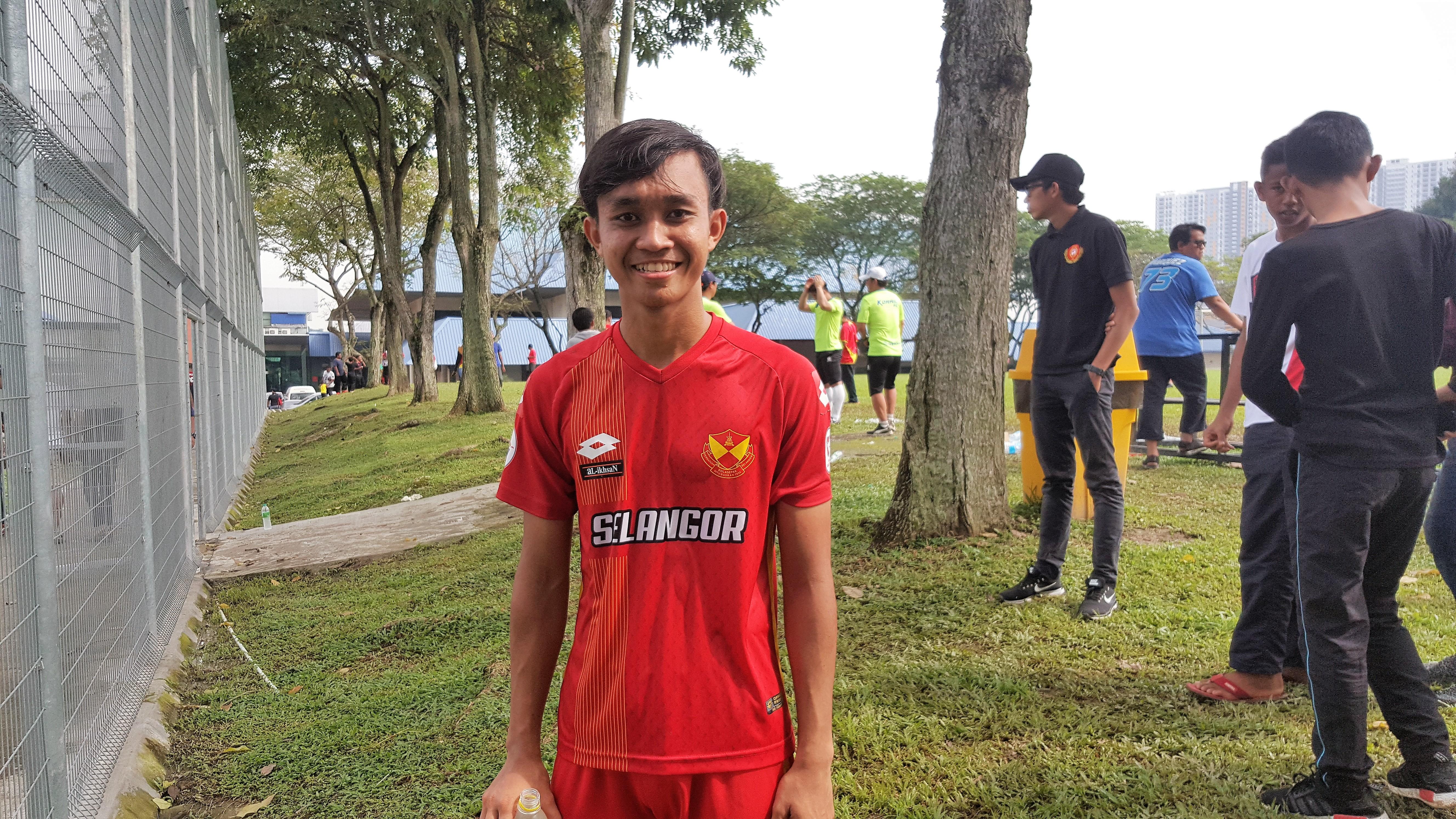 Faizuddin Abidin Selangor, 27012018