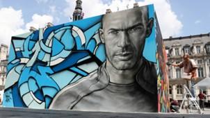 Zinedine Zidane art