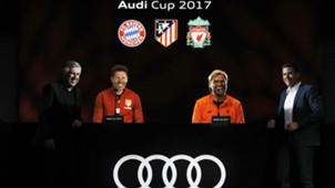Audi-Cup, Hologramm-Pressekonferenz, 12052017