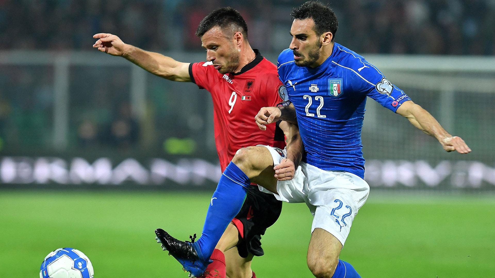 Davide Zappacosta Italy Albania