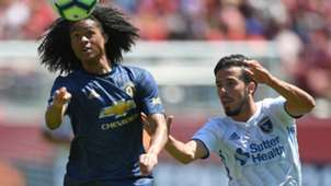Tahith Chong Jahmir Hyka Man United San Jose Earthquakes Friendly 22072018
