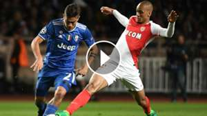 VIDEO PLAY Dybala Fabinho Monaco Juventus Champions League 03052017