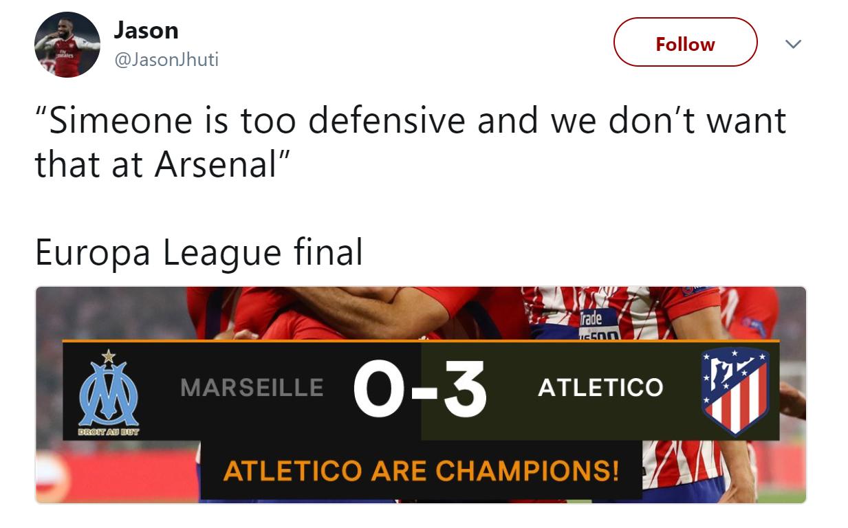 Reaction Europa League Final