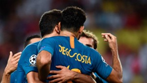 Atletico Madrid celebrate 2018-19
