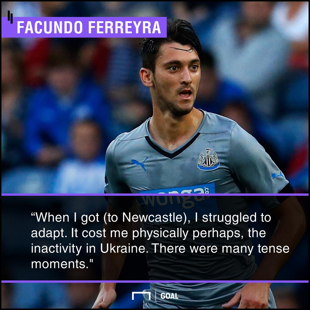 Facundo Ferreyra Newcastle PS