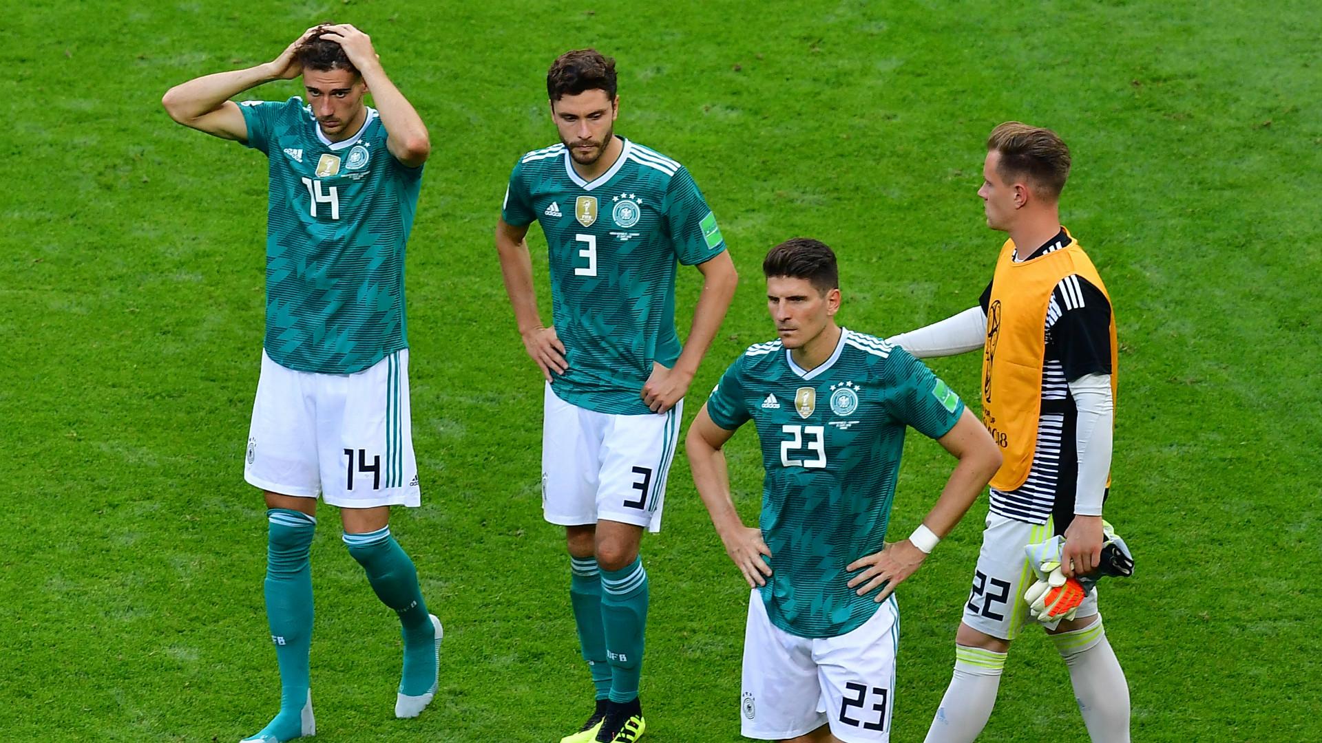 Image result for เยอรมันตกรอบแรกครั้งแรกในรอบ 80 ปี