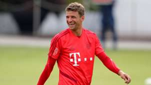 Thomas Müller FC Bayern Training Bundesliga 2019