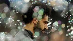 Mohamed Salah at West Ham