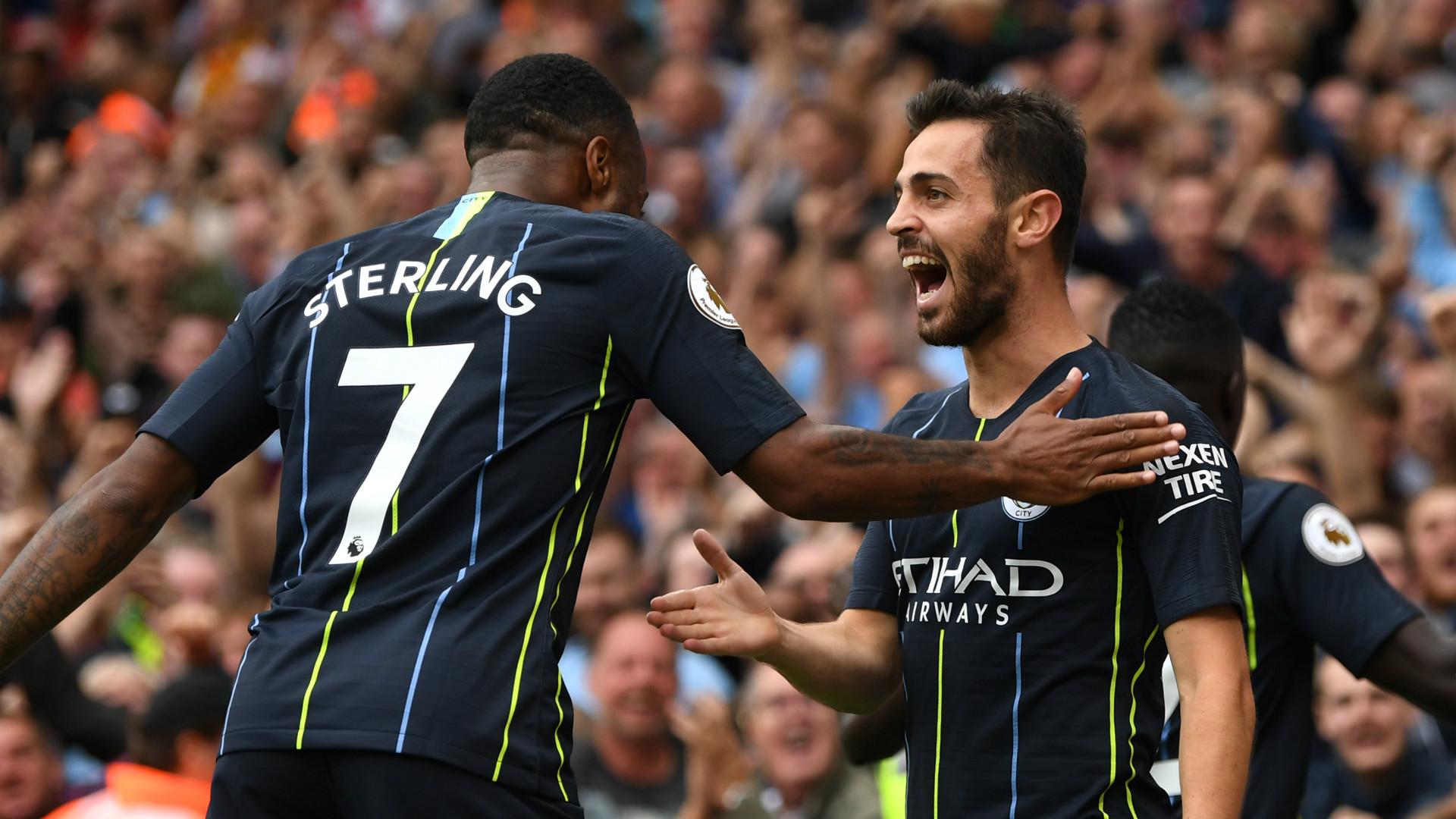 Raheem Sterling Bernardol Silva Manchester City 2018-19