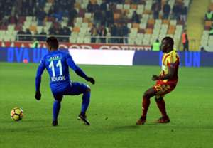 Samuel Eduok Aly Cissokho Yeni Malatyaspor Kasimpasa 02/09/18