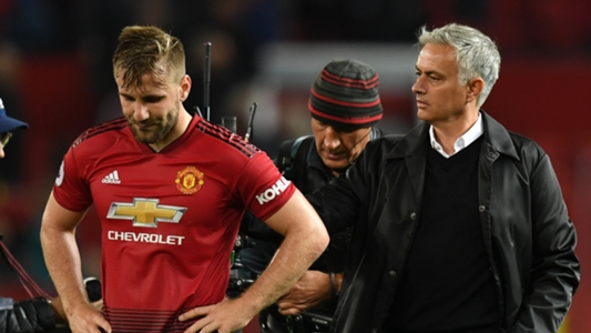 Mourinho criticises Shaw again during Manchester United's win against Chelsea