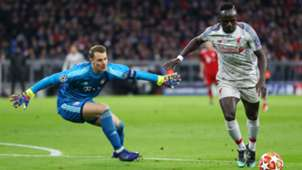 Sadio Mane Manuel Neuer FC Bayern München Liverpool 13032019