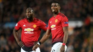 Paul Pogba Romelu Lukaku Manchester United Barcelona Champions League 2019