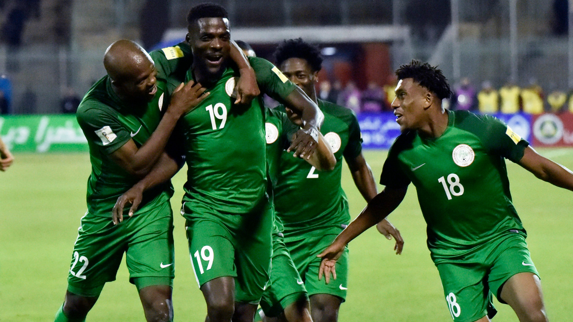 Argentina Friendly: Akpeyi starts, as Iheanacho, Iwobi lead Eagles' attack