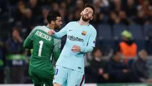 Lionel Messi Roma Barcelona Champions League