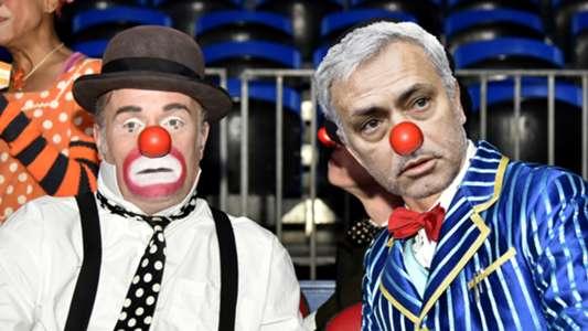 Mourinho clown