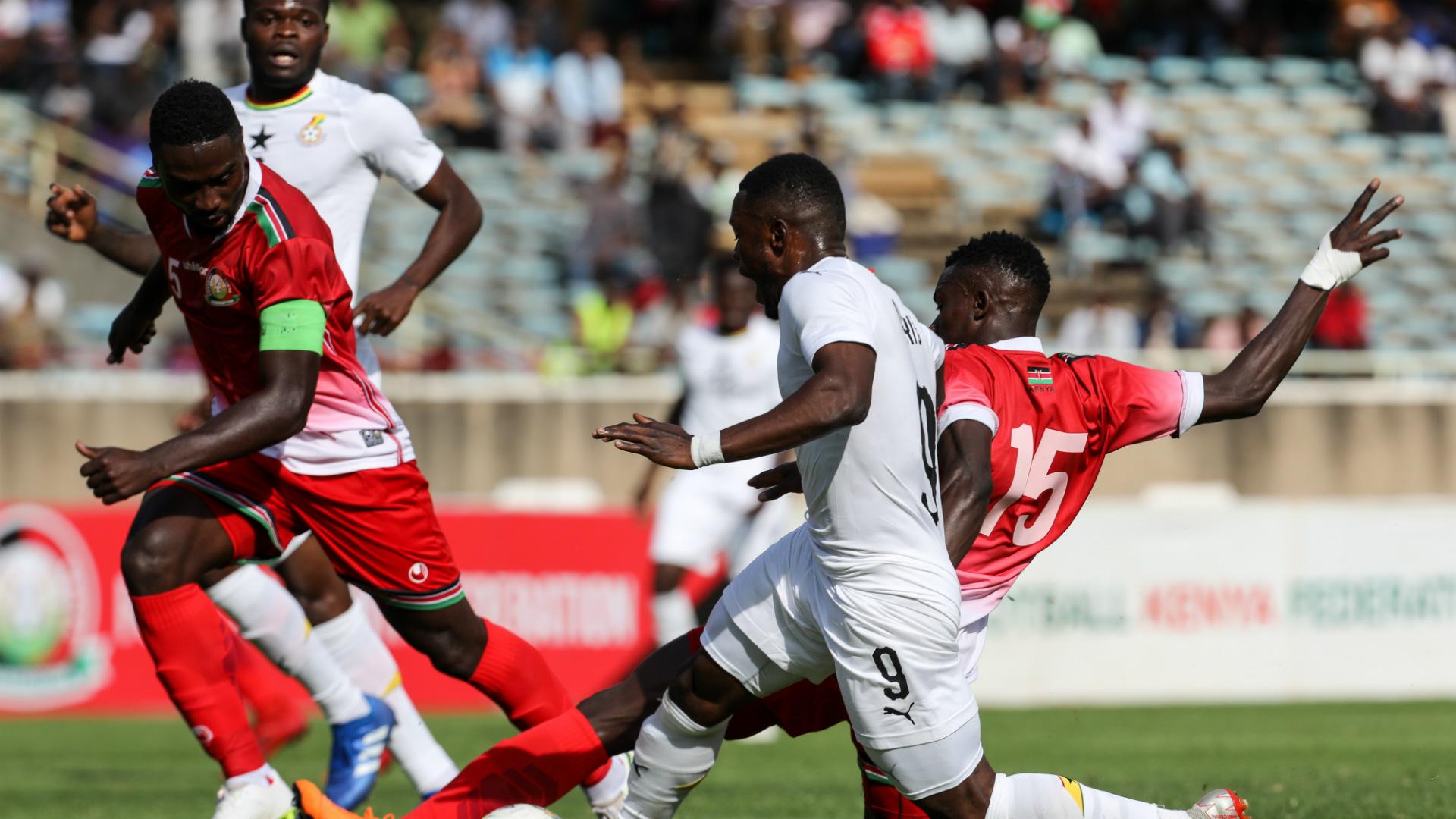 Musa Mohammed of Kenya v Ghana.
