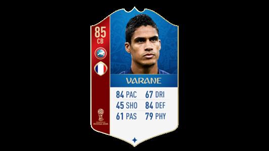 FIFA 18 World Cup France Varane