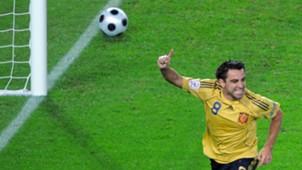 Xavi Spain Russia Euro 2008