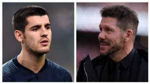 SIMEONE MORATA ATLETICO MADRID