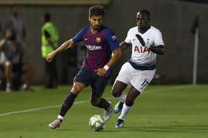 André Gomes & Moussa Sissoko - Barcelona v Tottenham Hotspur