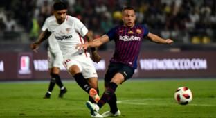 Arthur Melo Barcelona Sevilla