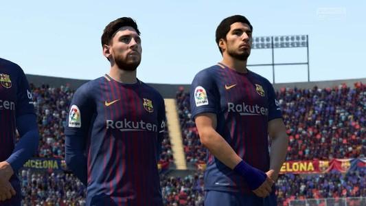 Messi Luis Suárez FIFA 18