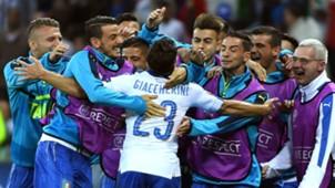 Emanuele Giaccherini Italy Belgium Euro 2016