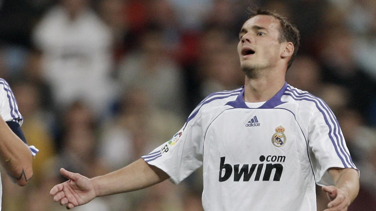 Wesley Sneijder Real Madrid