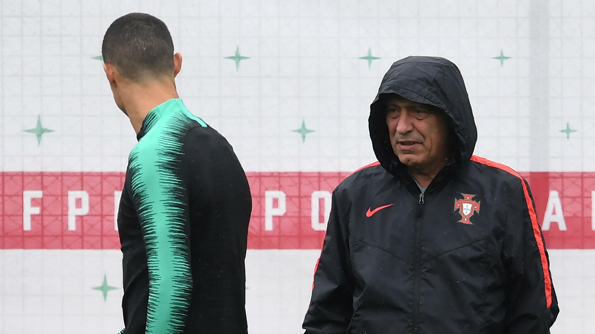Fernando Santos Portugal treino  10 06 2018