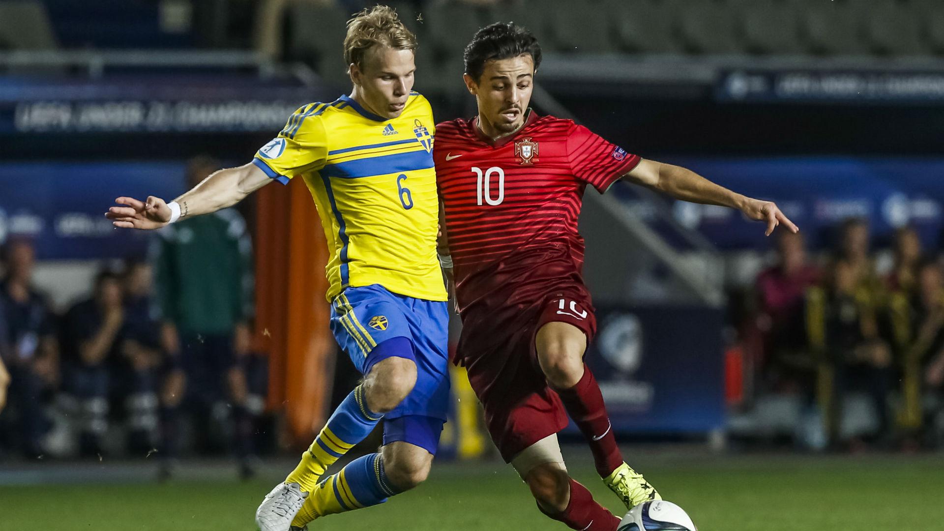 Sweden Portugal Under-21 Euros 2015