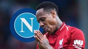 Nathaniel Clyne Liverpool Napoli