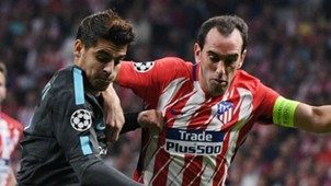Alvaro Morata Diego Godin Chelsea Atletico Madrid