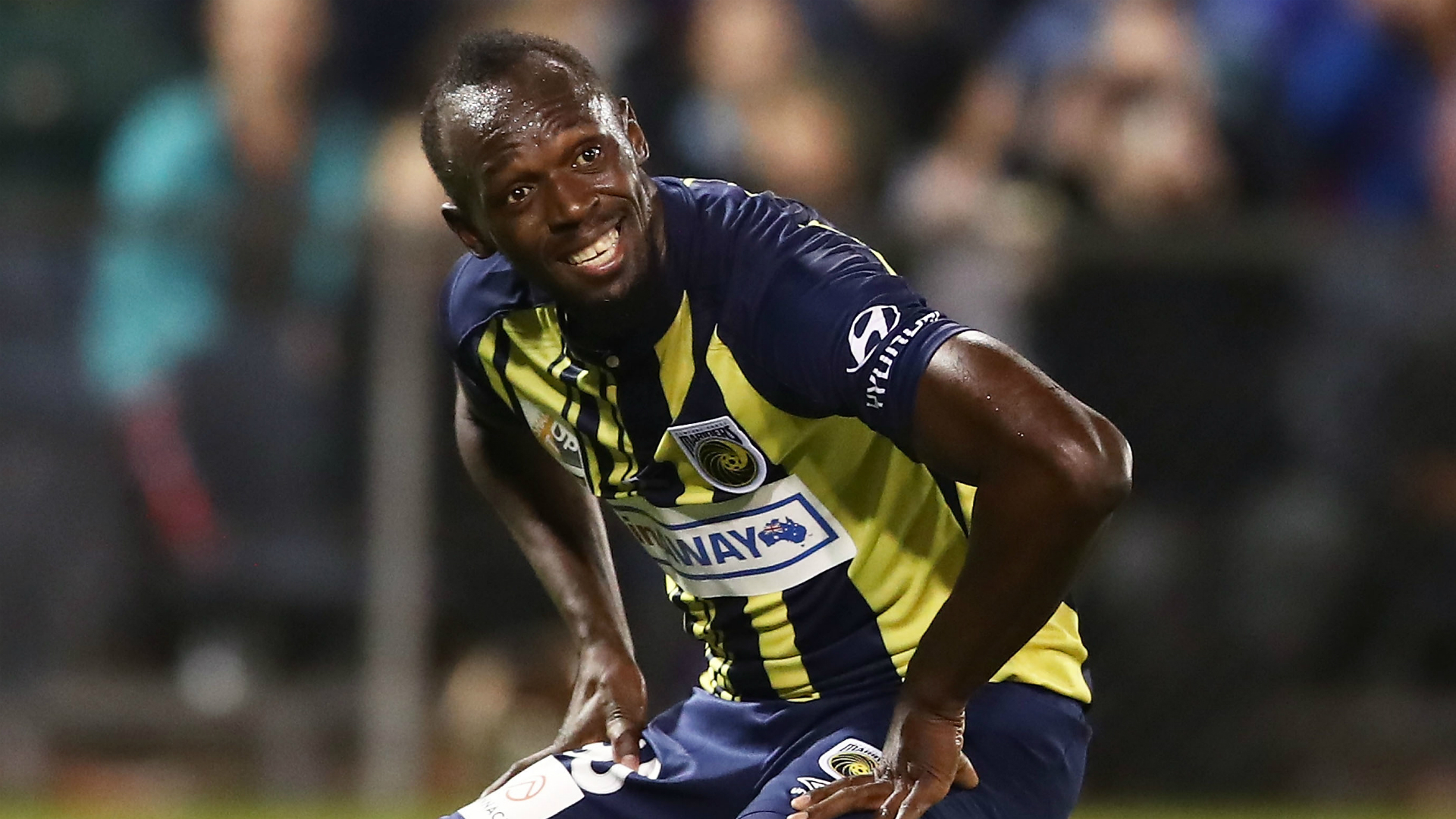 'I'm not a professional footballer yet' - Usain Bolt questions drug test request