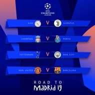 Cruces cuartos de Champions
