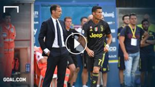 PB Allegri Ronaldo Juventus 2018