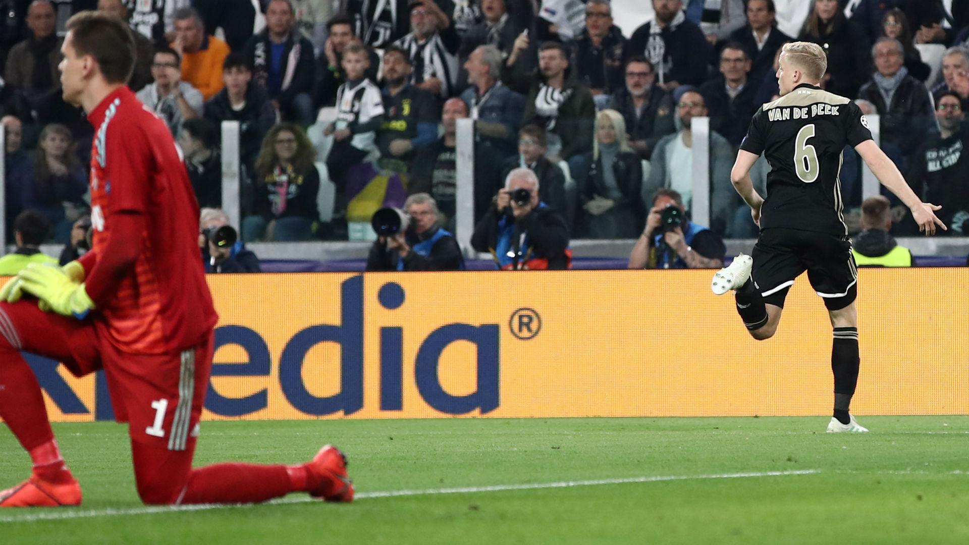 Van de Beek Juventus Ajax Champions League