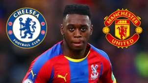 Aaron Wan-Bissaka Crystal Palace Chelsea Man Utd