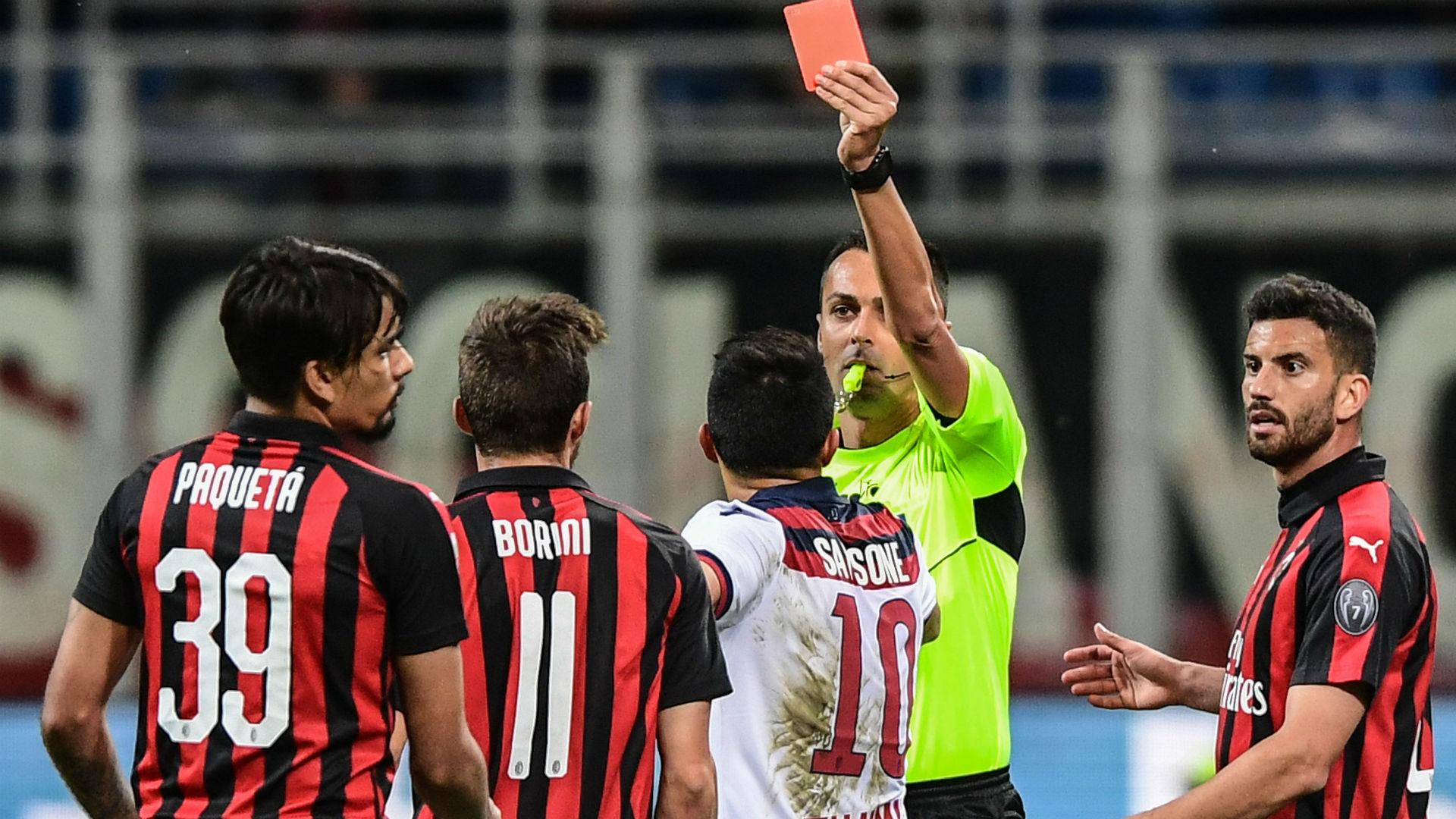 Paqueta Milan Bologna Serie A