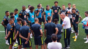 Tite jogadores Brasil treino 04092018 Nova Jersey