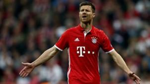 Xabi Alonson, Bayern-Real, 17042017