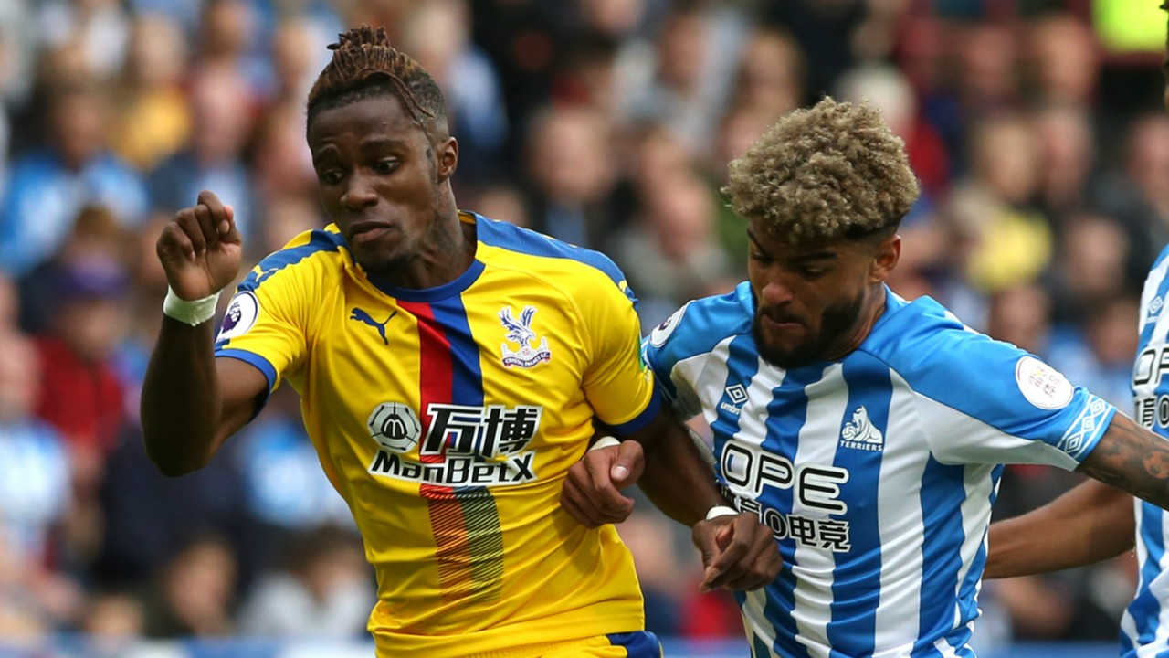 Wilfried Zaha, Philip Billing - Huddersfield Town vs. Crystal Palace