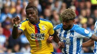 Wilfried Zaha, Philip Billing - Huddersfield Town vs. Crystal Palace